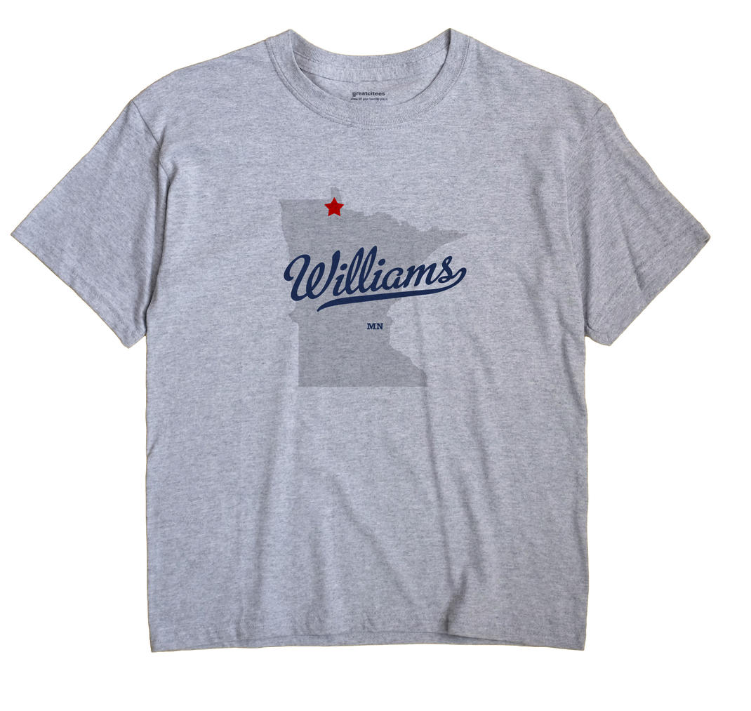 Williams, Lake of the Woods County, Minnesota MN Souvenir Shirt