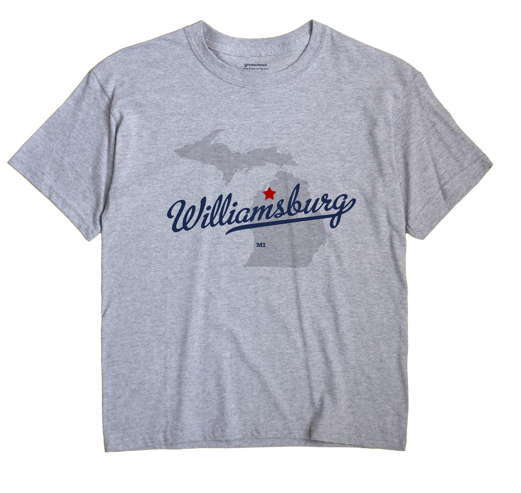 Williamsburg, Michigan MI Souvenir Shirt