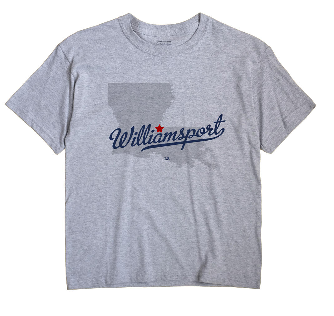 Williamsport, Louisiana LA Souvenir Shirt