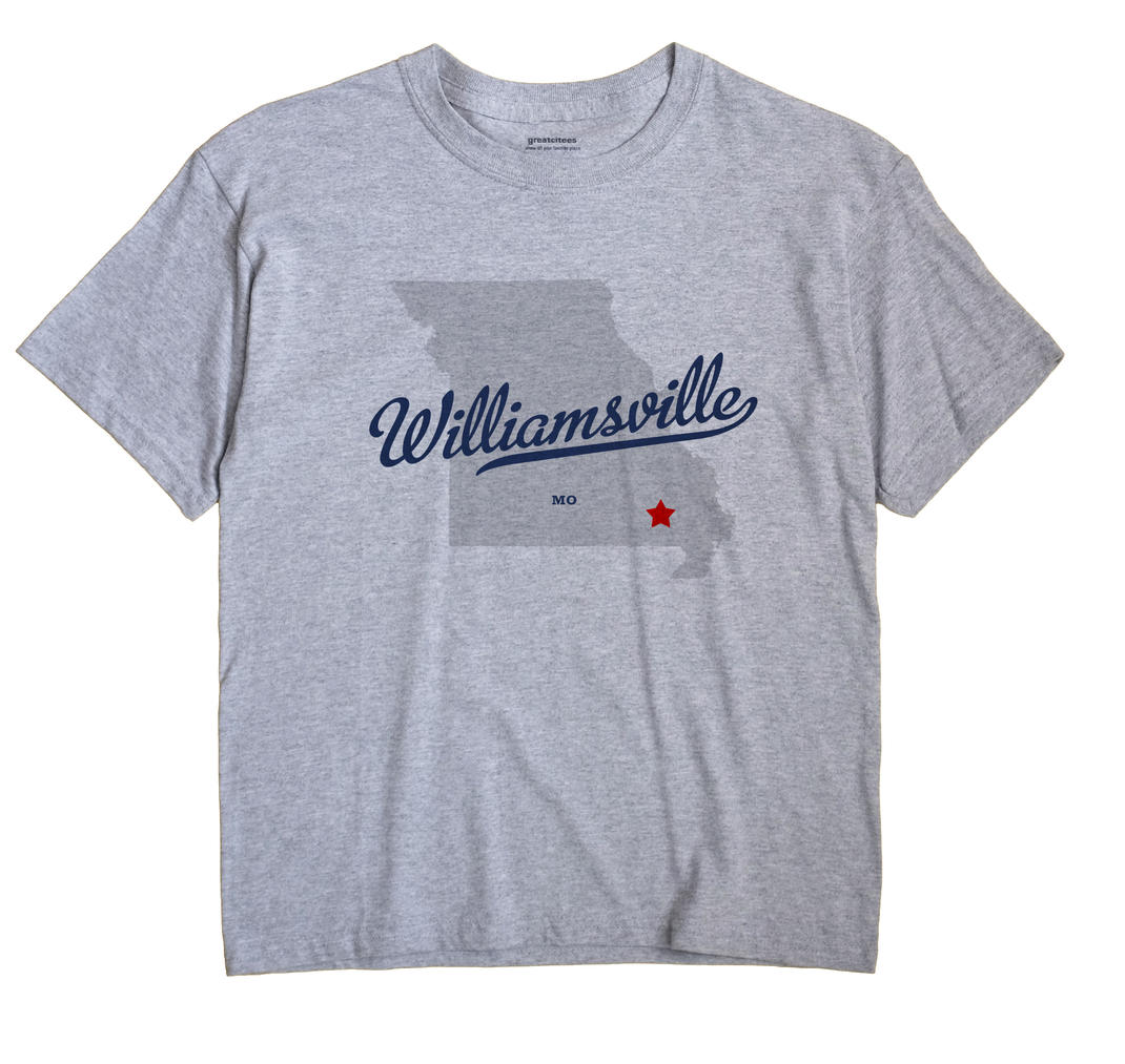 Williamsville, Missouri MO Souvenir Shirt