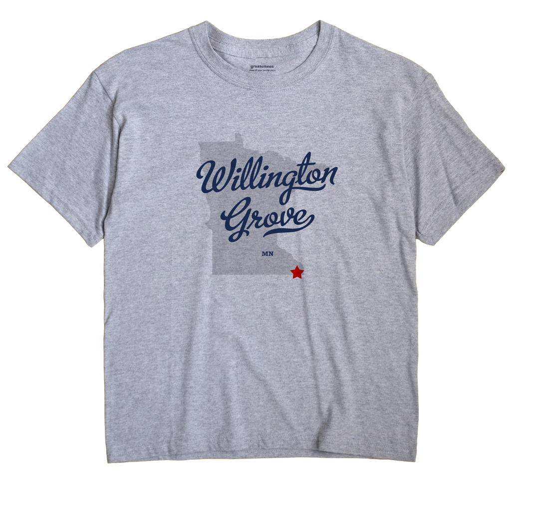 Willington Grove, Minnesota MN Souvenir Shirt
