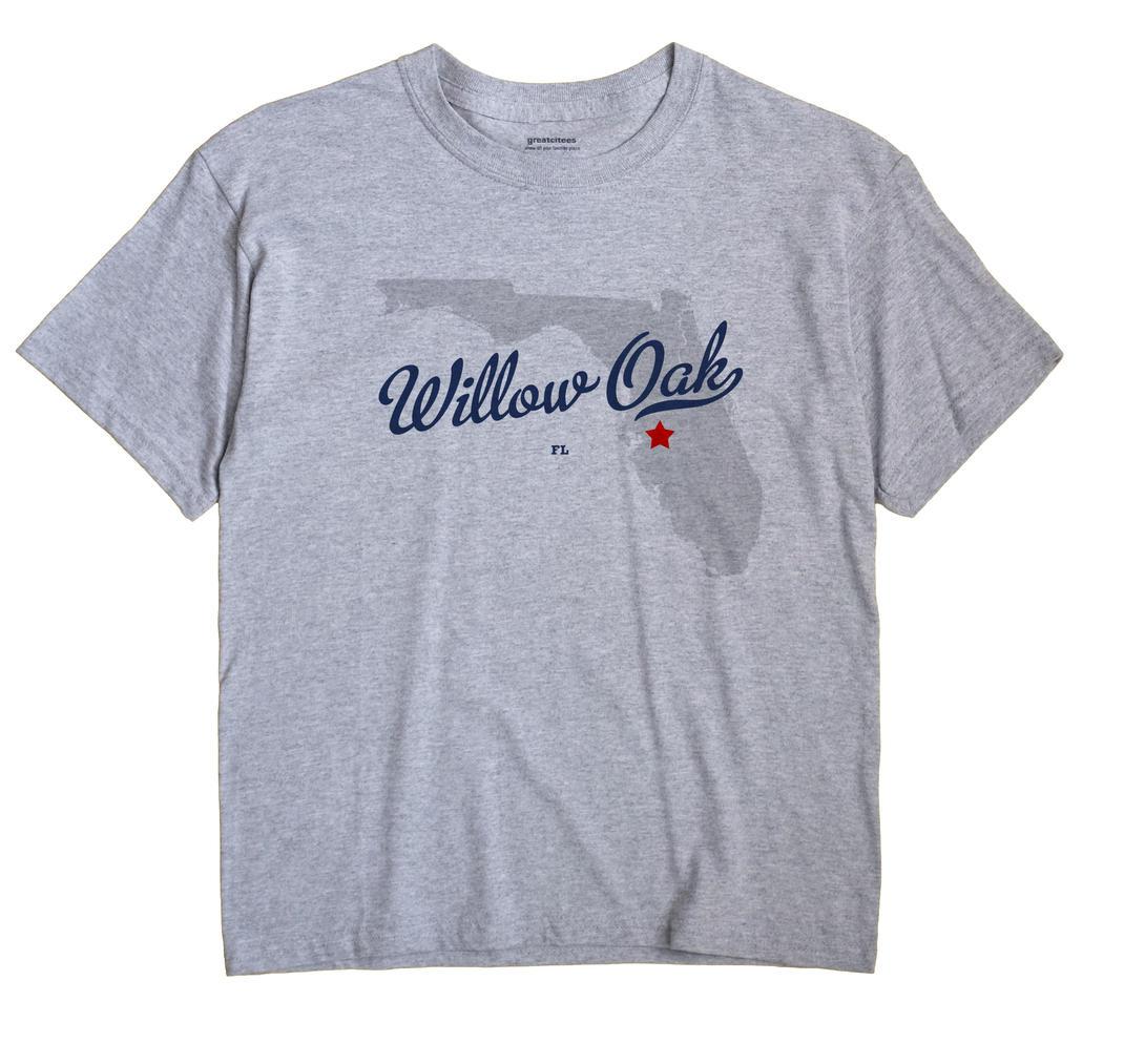 Willow Oak, Florida FL Souvenir Shirt