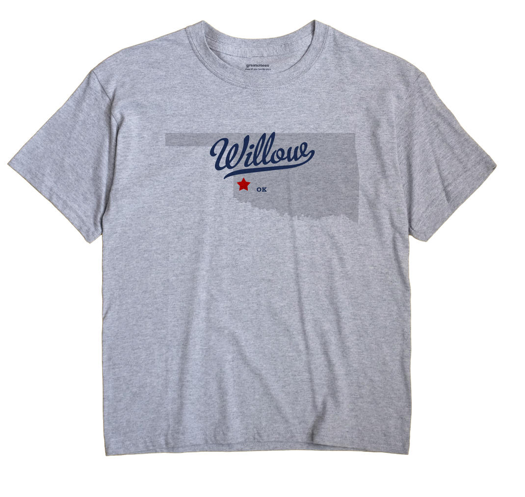 Willow, Oklahoma OK Souvenir Shirt