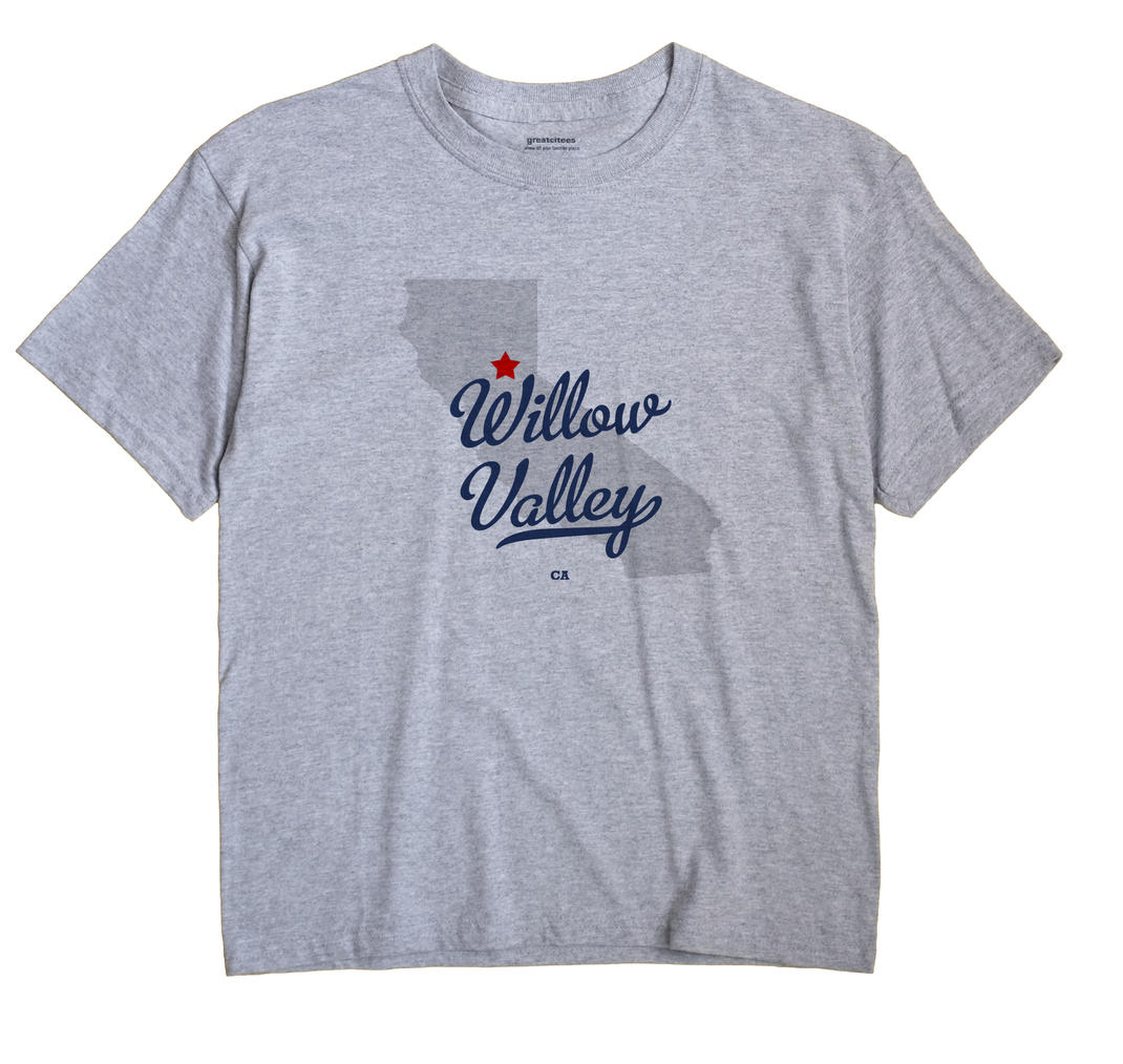 Willow Valley, California CA Souvenir Shirt