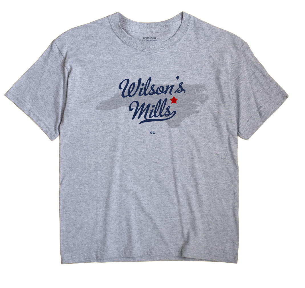 Wilson's Mills, North Carolina NC Souvenir Shirt