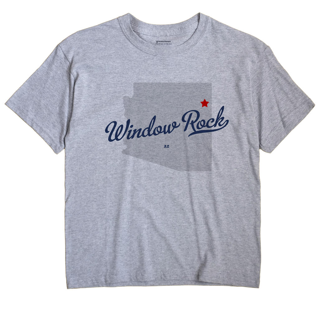 Window Rock, Arizona AZ Souvenir Shirt