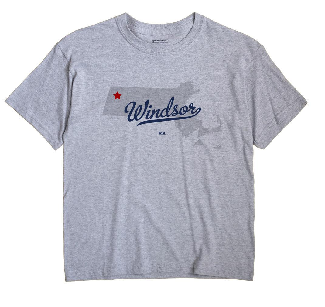 Windsor, Massachusetts MA Souvenir Shirt