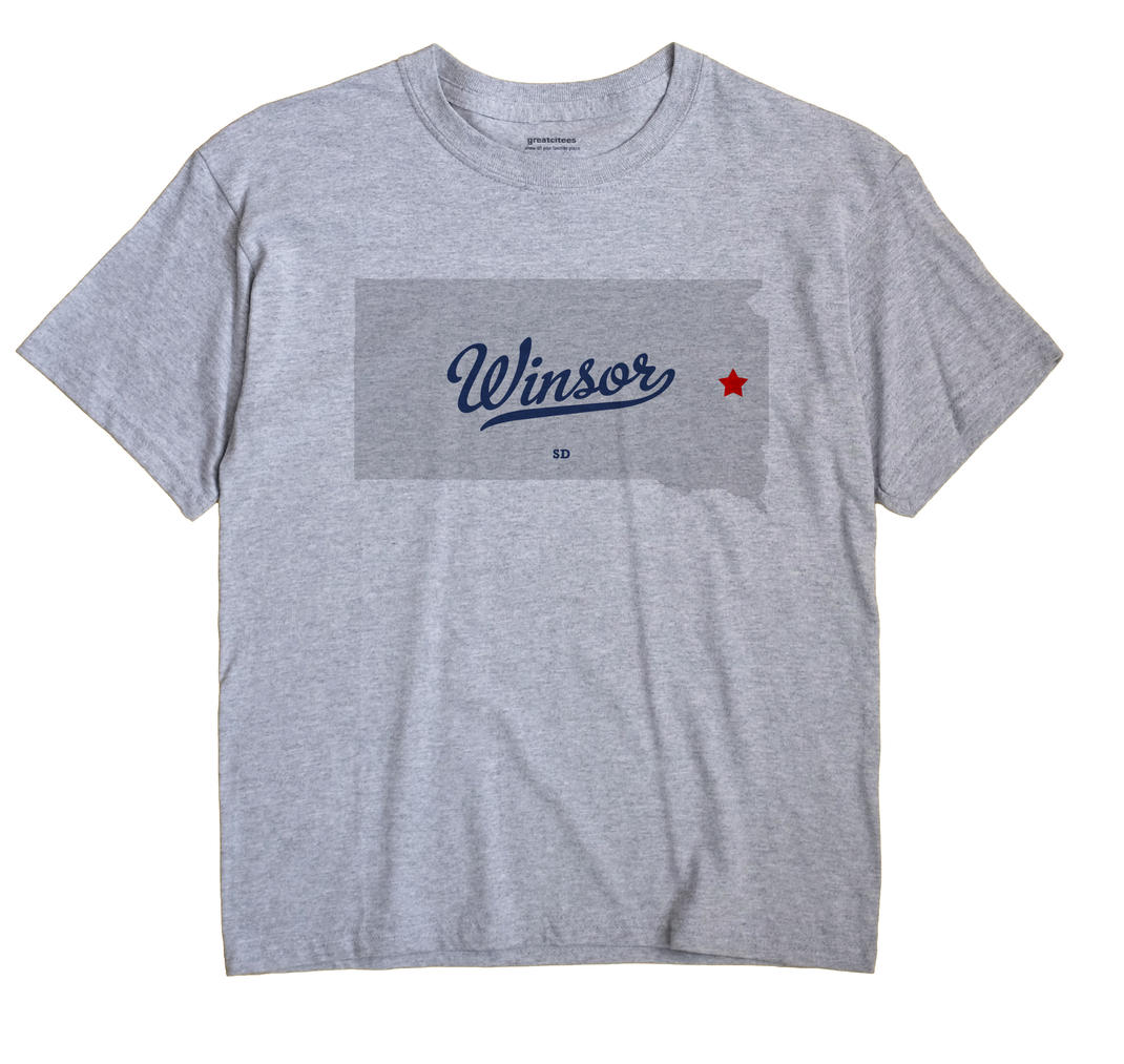 Winsor, South Dakota SD Souvenir Shirt