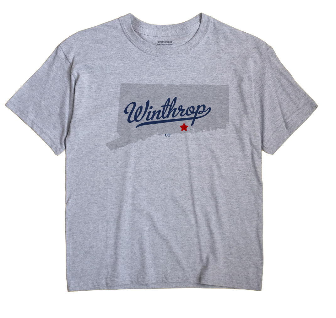 Winthrop, Connecticut CT Souvenir Shirt