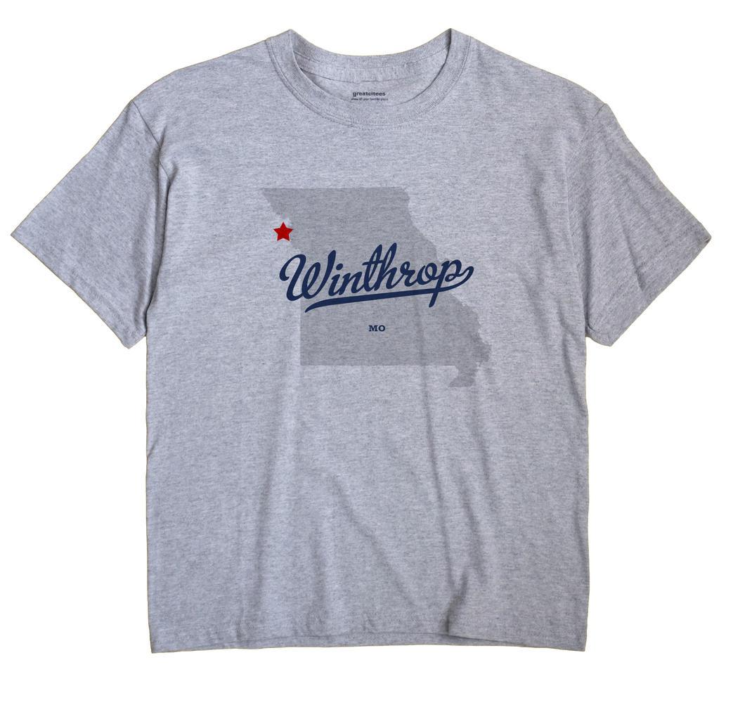 Winthrop, Missouri MO Souvenir Shirt