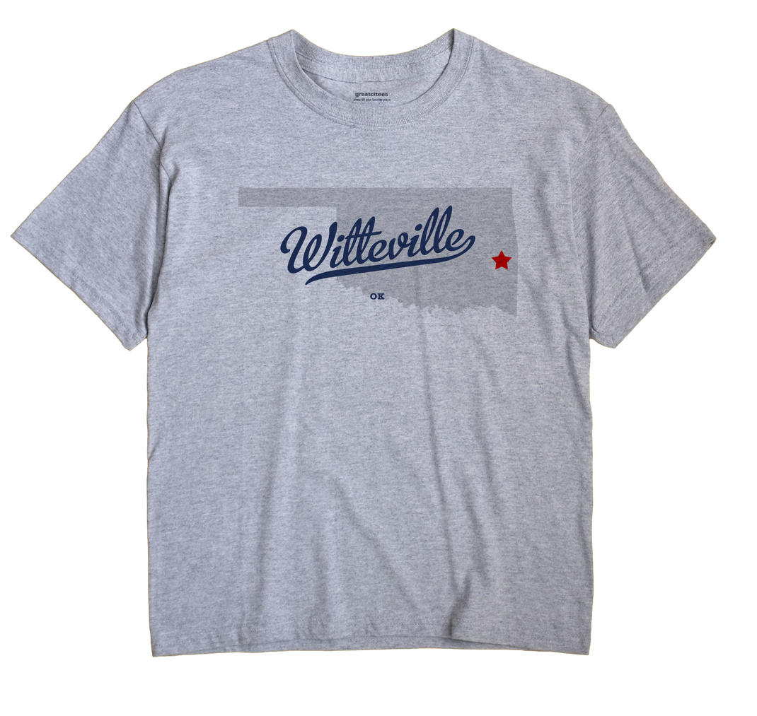 Witteville, Oklahoma OK Souvenir Shirt