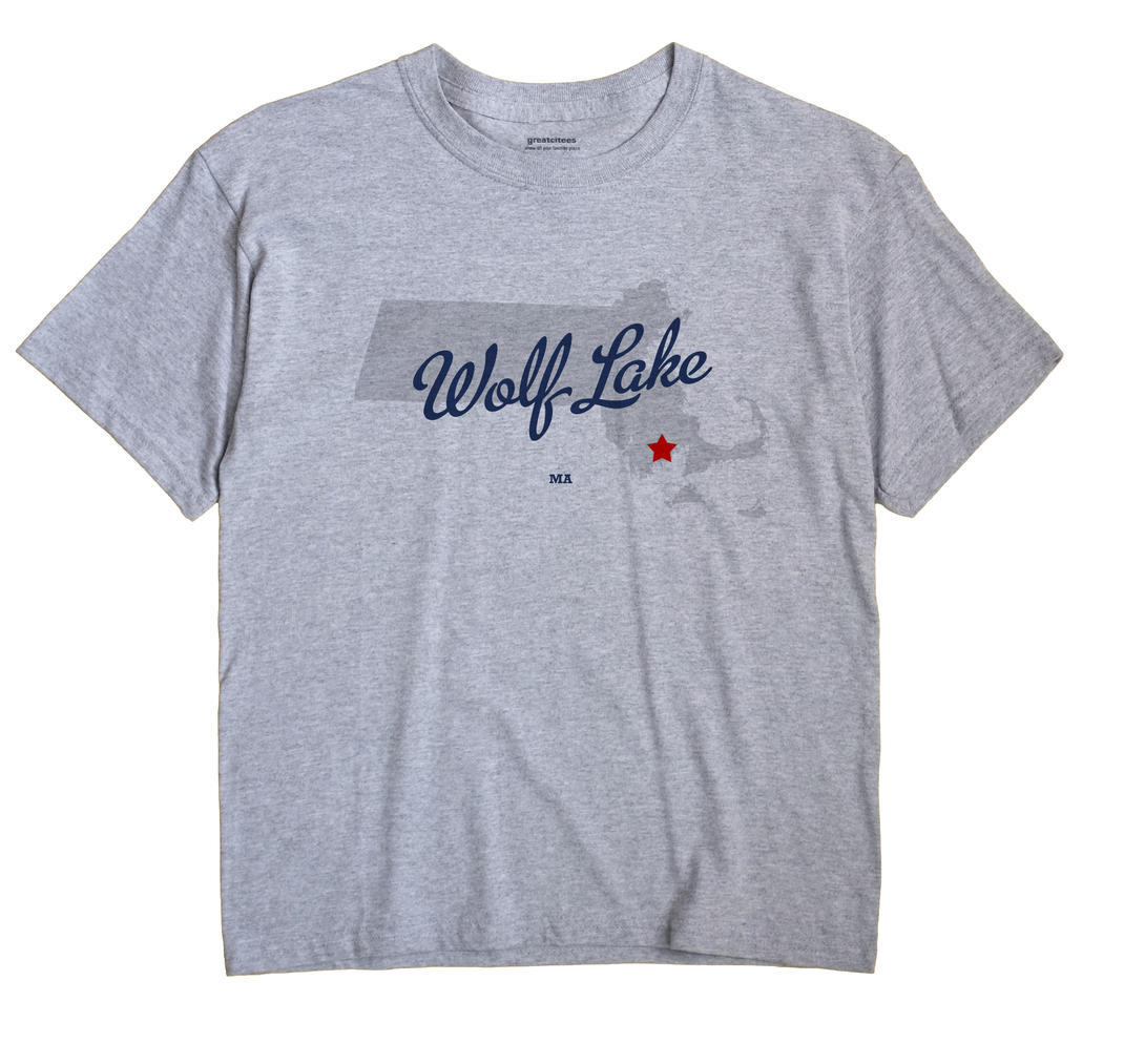 Wolf Lake, Massachusetts MA Souvenir Shirt