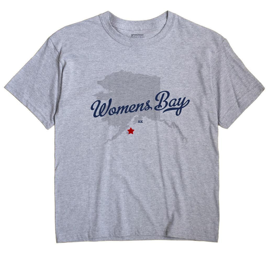 Womens Bay, Alaska AK Souvenir Shirt