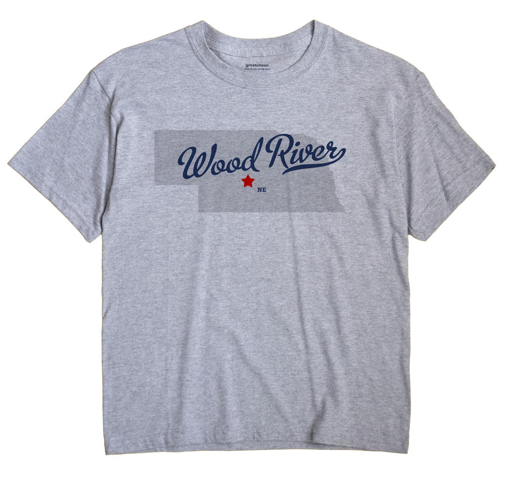 Wood River, Custer County, Nebraska NE Souvenir Shirt