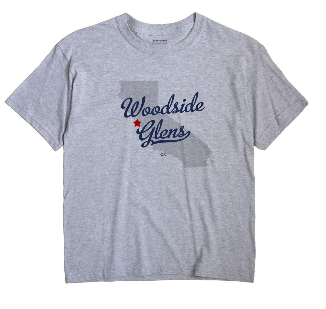 Woodside Glens, California CA Souvenir Shirt