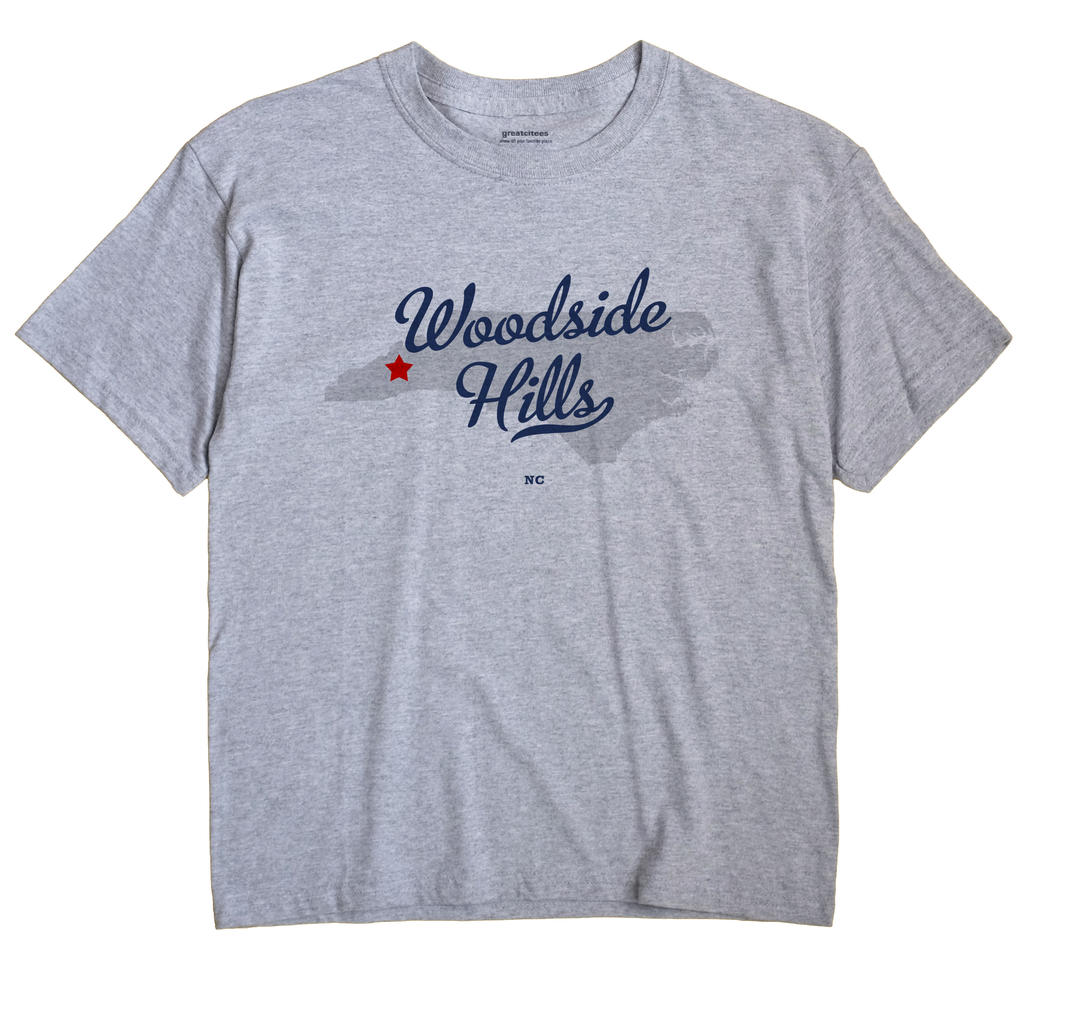 Woodside Hills, North Carolina NC Souvenir Shirt