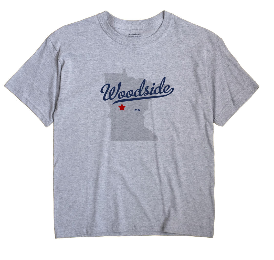 Woodside, Otter Tail County, Minnesota MN Souvenir Shirt