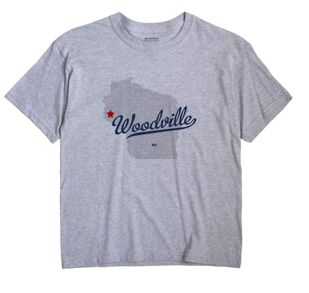 Woodville, St. Croix County, Wisconsin WI Souvenir Shirt