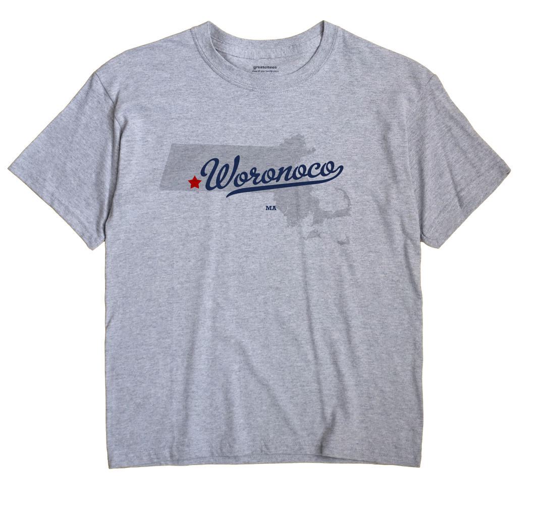 Woronoco, Massachusetts MA Souvenir Shirt