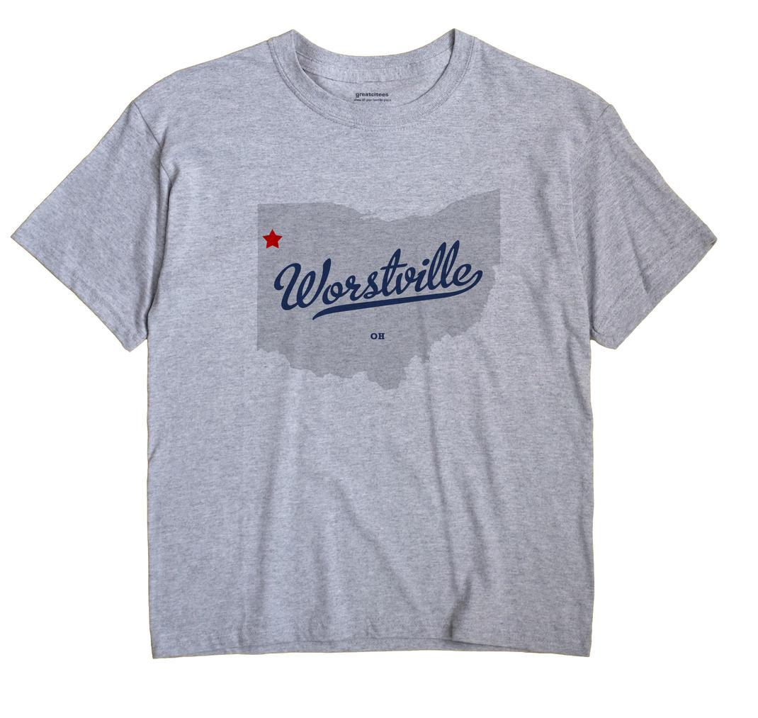 Worstville, Ohio OH Souvenir Shirt
