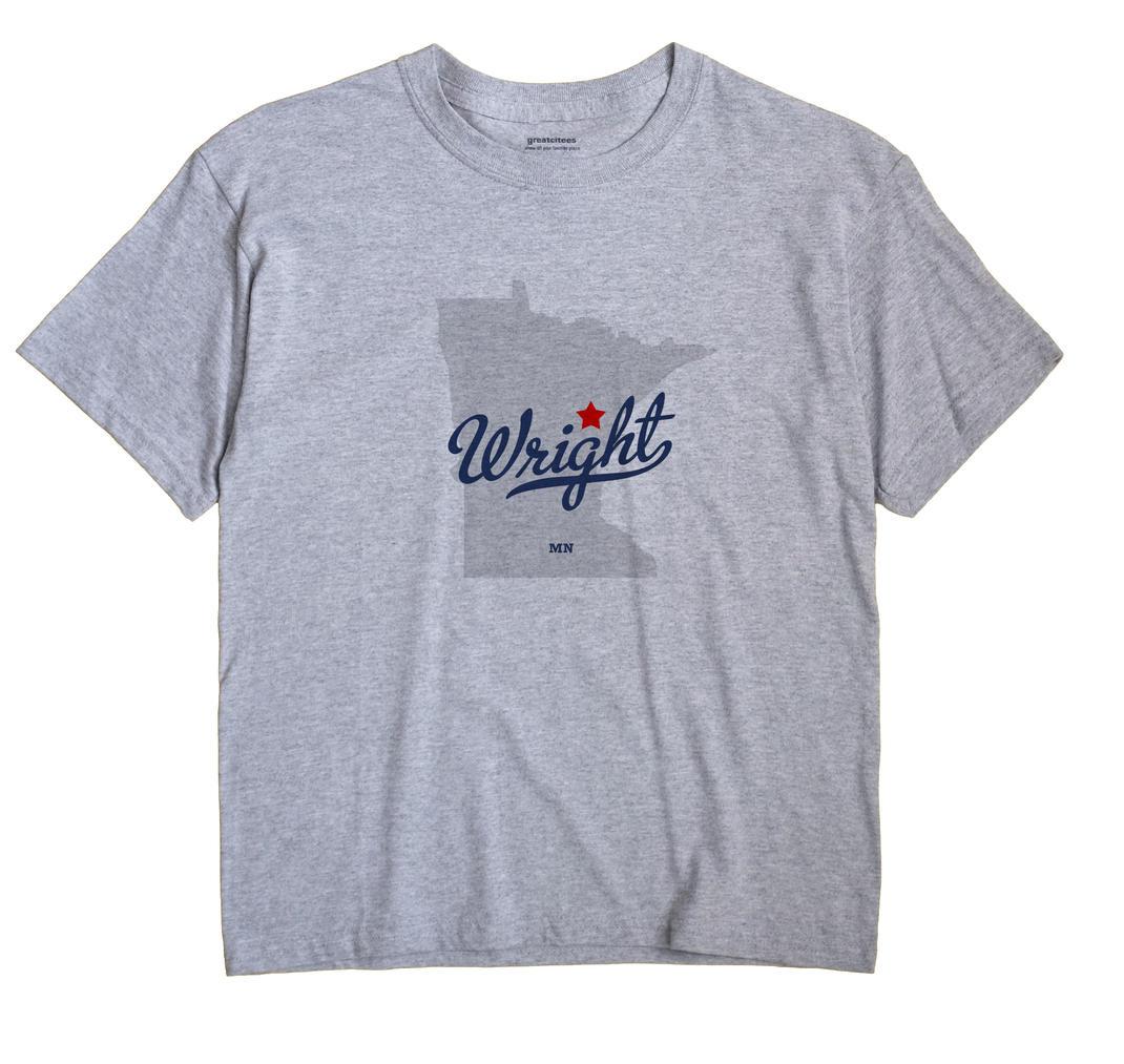 Wright, Carlton County, Minnesota MN Souvenir Shirt
