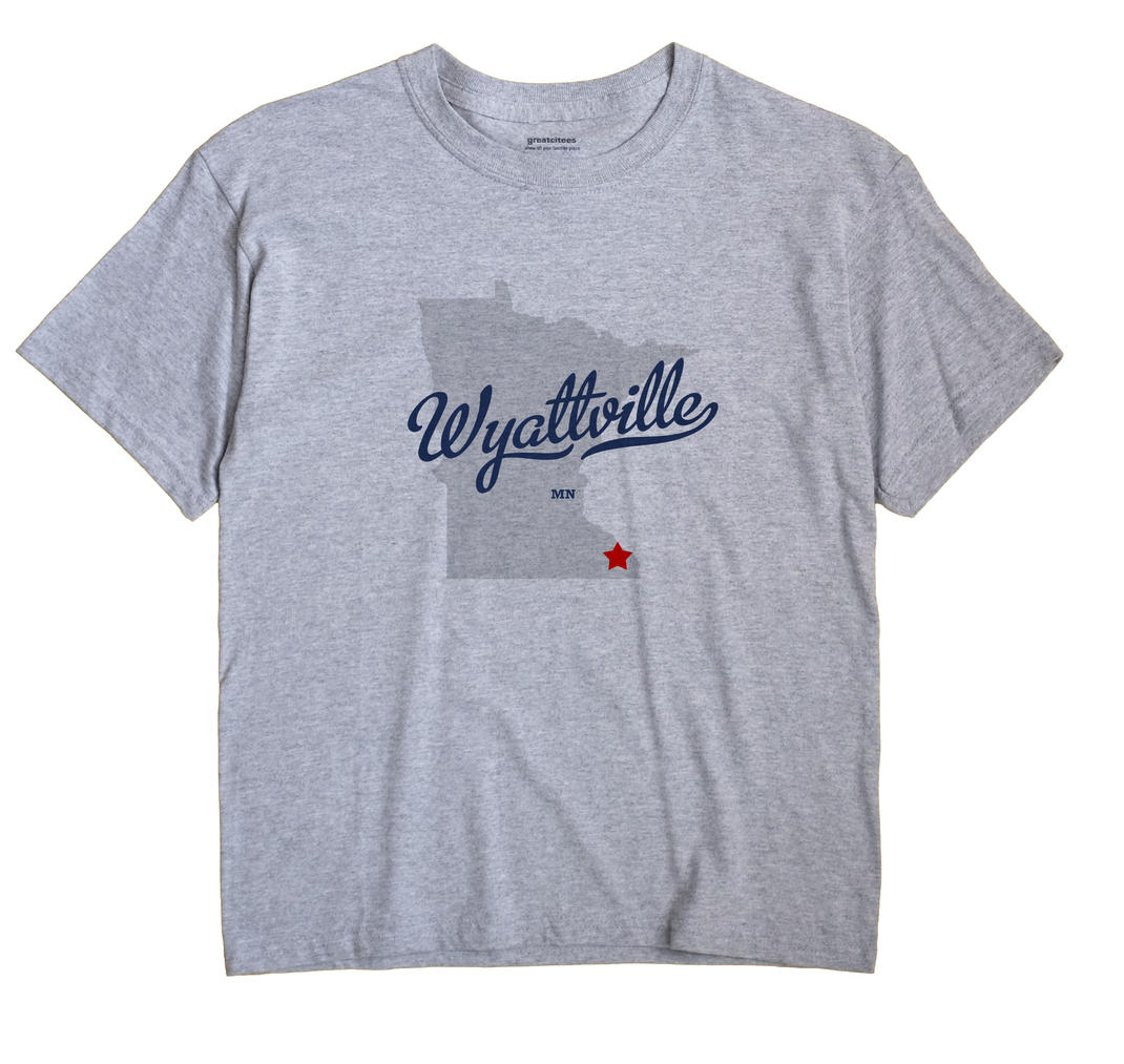 Wyattville, Minnesota MN Souvenir Shirt