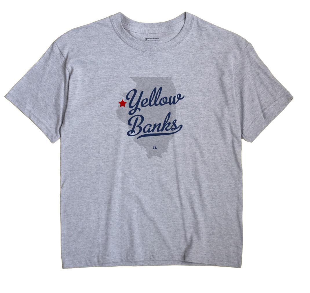 Yellow Banks, Illinois IL Souvenir Shirt