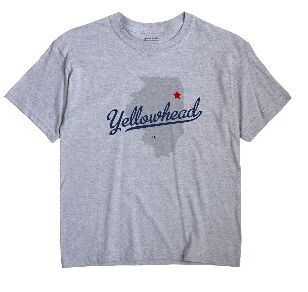 Yellowhead, Illinois IL Souvenir Shirt
