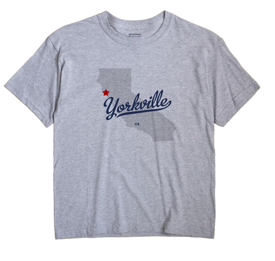 Yorkville, California CA Souvenir Shirt