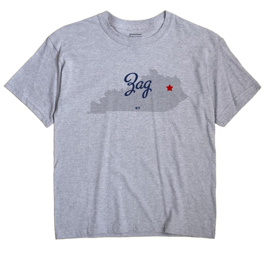 Zag, Kentucky KY Souvenir Shirt