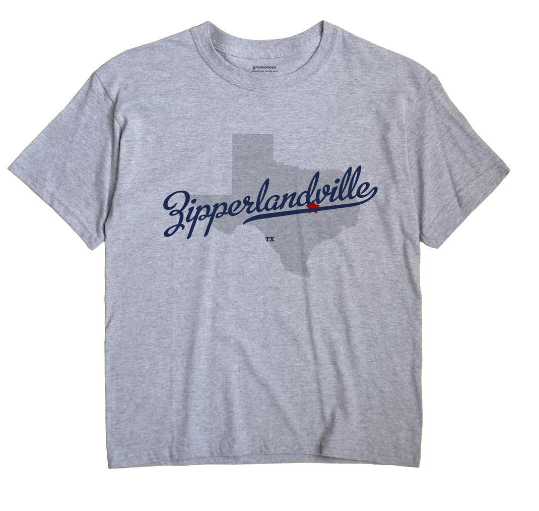 Zipperlandville, Texas TX Souvenir Shirt