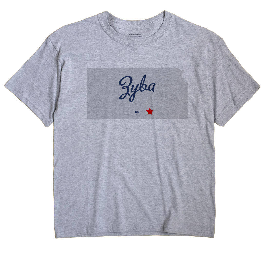 Zyba, Kansas KS Souvenir Shirt