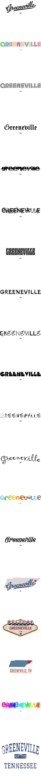 Greeneville, TN T Shirt MAP Hometown Souvenir by GreatCitees com